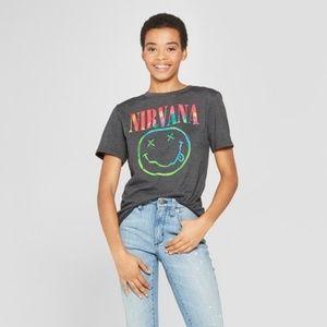 NWOT Target Nirvana Band Tee